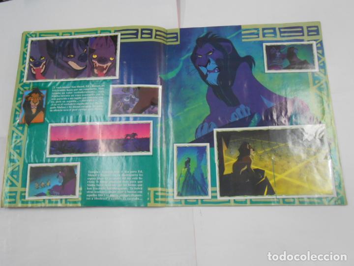 Coleccionismo Álbum: ALBUM DE CROMOS EL REY LEON. DISNEY. PANINI. COMPLETO. TDKC38 - Foto 12 - 139271262