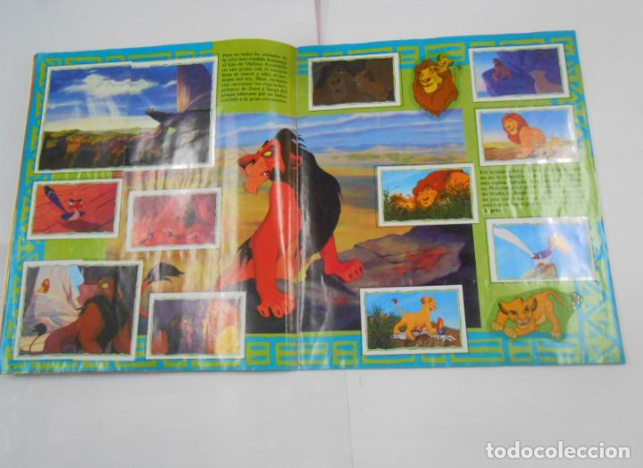 Coleccionismo Álbum: ALBUM DE CROMOS EL REY LEON. DISNEY. PANINI. COMPLETO. TDKC38 - Foto 16 - 139271262