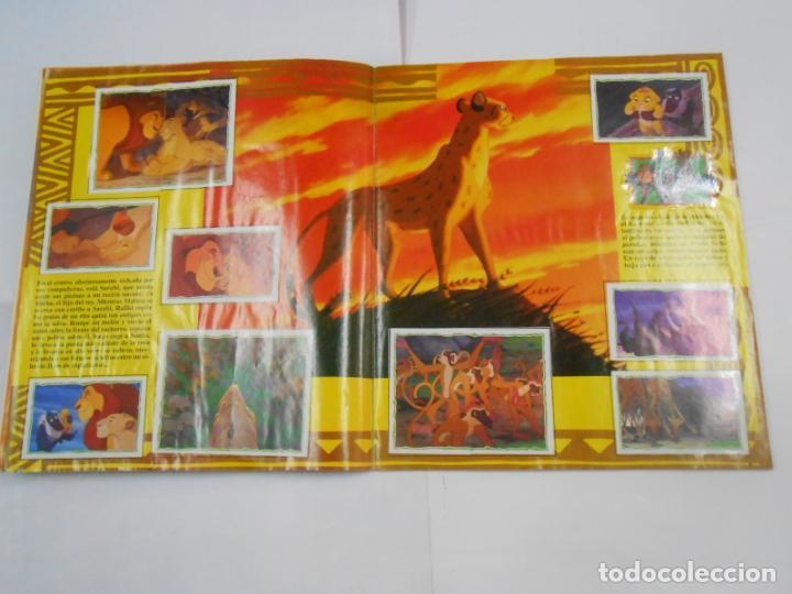 Coleccionismo Álbum: ALBUM DE CROMOS EL REY LEON. DISNEY. PANINI. COMPLETO. TDKC38 - Foto 17 - 139271262