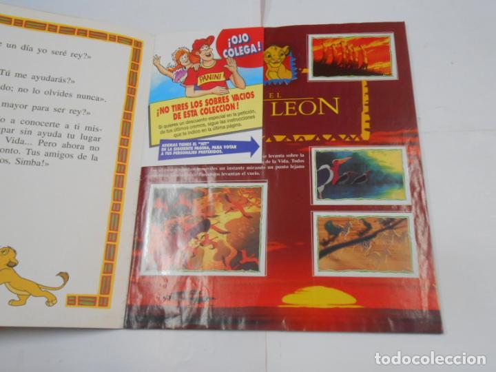 Coleccionismo Álbum: ALBUM DE CROMOS EL REY LEON. DISNEY. PANINI. COMPLETO. TDKC38 - Foto 19 - 139271262