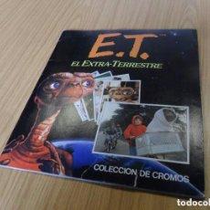 Coleccionismo Álbum: ET EL EXTRATERRESTRE COMPLETO 120 CROMOS. EDICIONES ESTE. 1982.. Lote 139287598