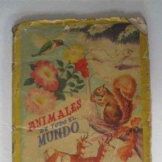 Coleccionismo Álbum: ANIMALES DE TODO EL MUNDO. Lote 139381834
