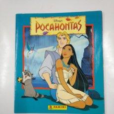 Coleccionismo Álbum: ALBUM DE CROMOS DE POCAHONTAS COMPLETO. - PANINI DISNEY. TDKC38. Lote 139416526