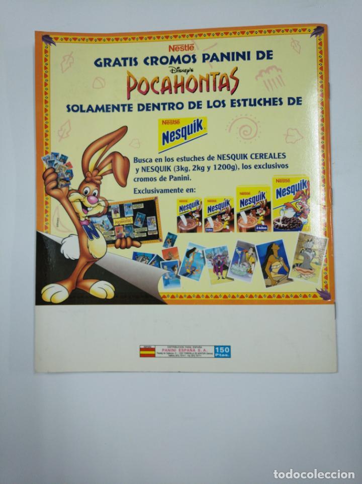 Coleccionismo Álbum: ALBUM DE CROMOS DE POCAHONTAS COMPLETO. - PANINI DISNEY. TDKC38 - Foto 2 - 139416526