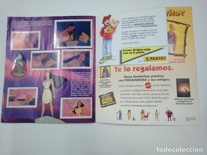 Coleccionismo Álbum: ALBUM DE CROMOS DE POCAHONTAS COMPLETO. - PANINI DISNEY. TDKC38 - Foto 3 - 139416526