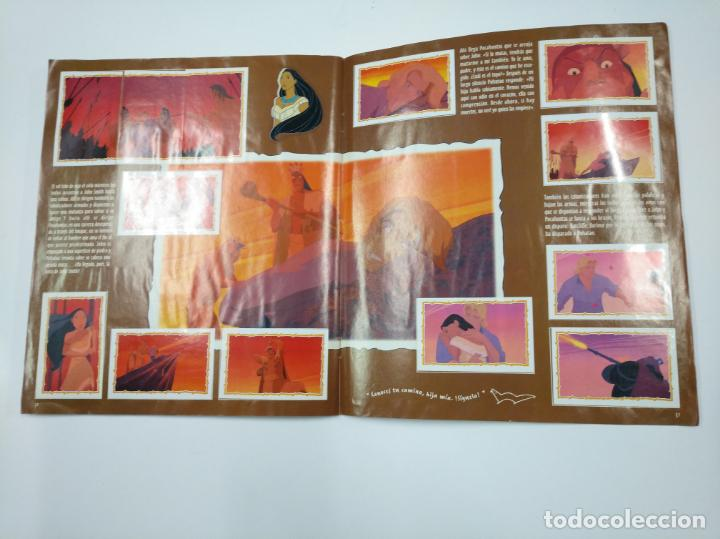 Coleccionismo Álbum: ALBUM DE CROMOS DE POCAHONTAS COMPLETO. - PANINI DISNEY. TDKC38 - Foto 4 - 139416526