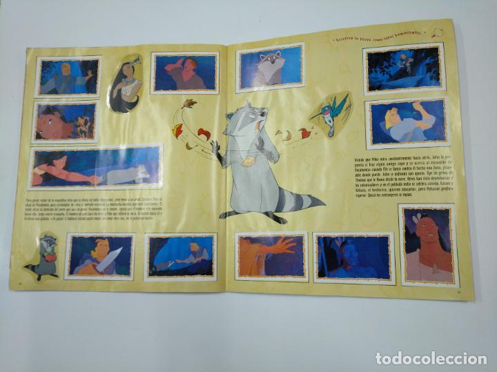 Coleccionismo Álbum: ALBUM DE CROMOS DE POCAHONTAS COMPLETO. - PANINI DISNEY. TDKC38 - Foto 14 - 139416526