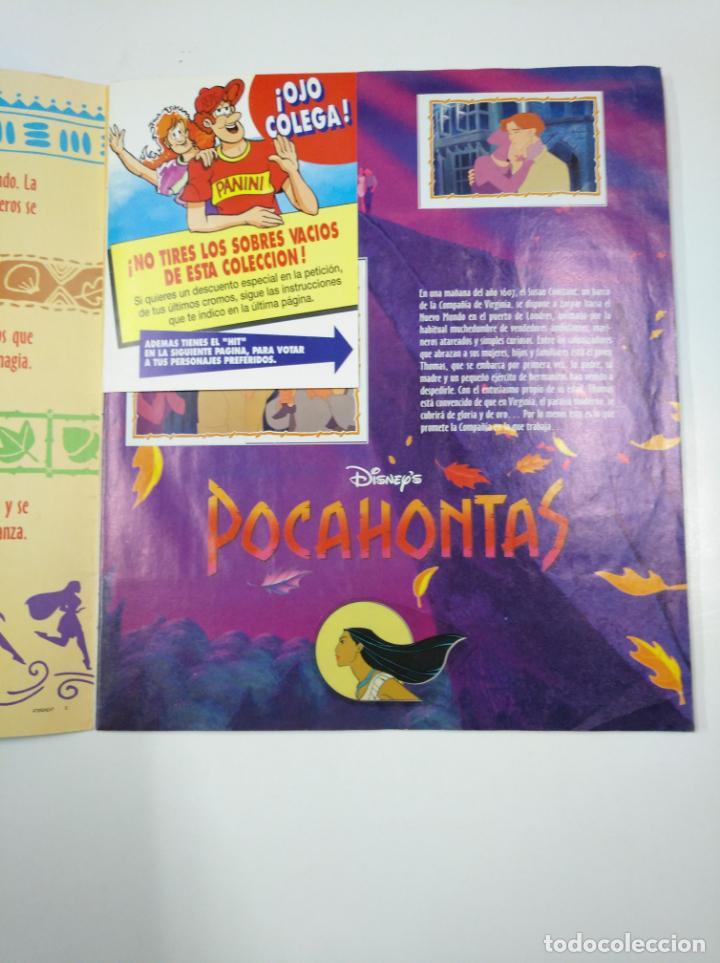 Coleccionismo Álbum: ALBUM DE CROMOS DE POCAHONTAS COMPLETO. - PANINI DISNEY. TDKC38 - Foto 19 - 139416526