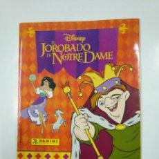 Coleccionismo Álbum: ALBUM DE CROMOS EL JOROBADO DE NOTRE DAME.- PANINI DISNEY COMPLETO. TDKC38. Lote 139416786