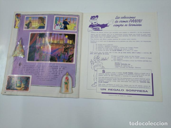 Coleccionismo Álbum: LA BELLA Y LA BESTIA. ALBUM DE CROMOS DISNEY PANINI. COMPLETO. TDKC38 - Foto 3 - 139417114
