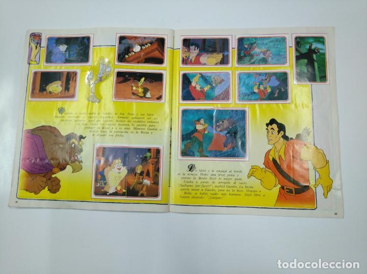 Coleccionismo Álbum: LA BELLA Y LA BESTIA. ALBUM DE CROMOS DISNEY PANINI. COMPLETO. TDKC38 - Foto 5 - 139417114