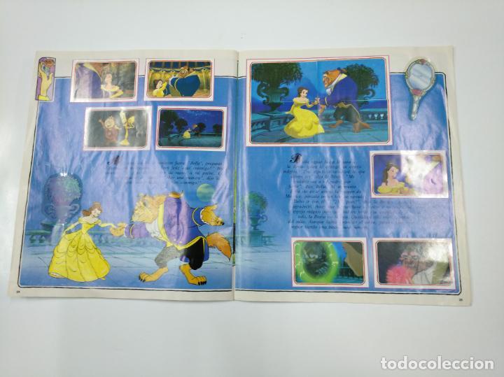 Coleccionismo Álbum: LA BELLA Y LA BESTIA. ALBUM DE CROMOS DISNEY PANINI. COMPLETO. TDKC38 - Foto 7 - 139417114