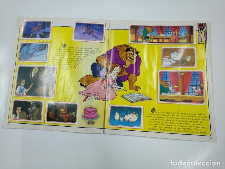Coleccionismo Álbum: LA BELLA Y LA BESTIA. ALBUM DE CROMOS DISNEY PANINI. COMPLETO. TDKC38 - Foto 10 - 139417114
