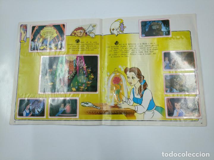 Coleccionismo Álbum: LA BELLA Y LA BESTIA. ALBUM DE CROMOS DISNEY PANINI. COMPLETO. TDKC38 - Foto 11 - 139417114