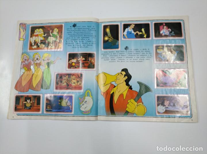 Coleccionismo Álbum: LA BELLA Y LA BESTIA. ALBUM DE CROMOS DISNEY PANINI. COMPLETO. TDKC38 - Foto 13 - 139417114