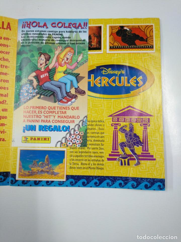 Coleccionismo Álbum: ALBUM DE CROMOS HERCULES. PANINI DISNEY. COMPLETO. TDKC38 - Foto 18 - 139417310