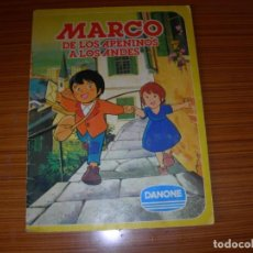 Coleccionismo Álbum: MARCO DE LOS APENINOS A LOS ANDES EDITA DANONE . Lote 139443634
