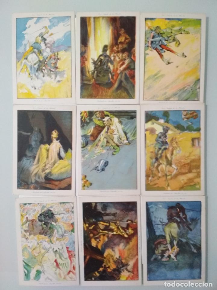 Coleccionismo Álbum: EL INGENIOSO HIDALGO DON QUIJOTE DE LA MANCHA, COLECCION COMPLETA, 80 CROMOS, CHOCOLATES AMATLLER - Foto 2 - 139596382
