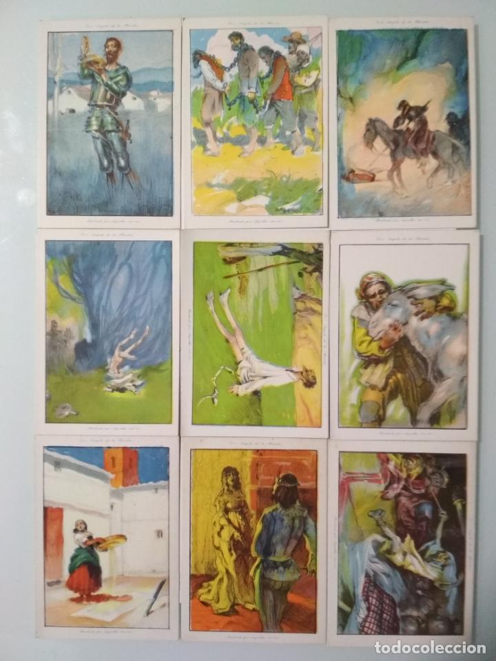Coleccionismo Álbum: EL INGENIOSO HIDALGO DON QUIJOTE DE LA MANCHA, COLECCION COMPLETA, 80 CROMOS, CHOCOLATES AMATLLER - Foto 3 - 139596382