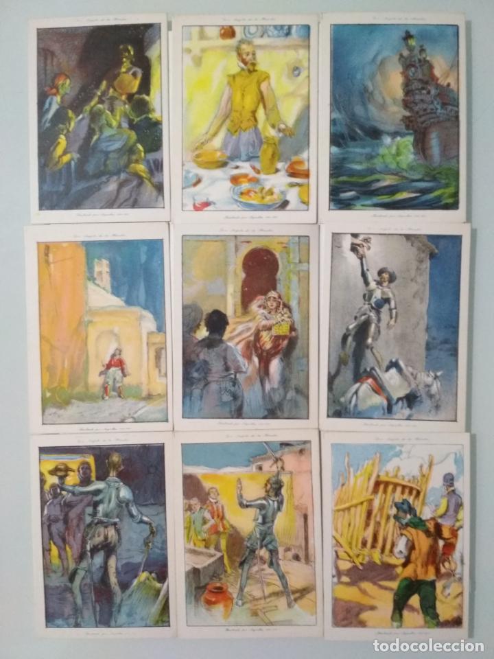Coleccionismo Álbum: EL INGENIOSO HIDALGO DON QUIJOTE DE LA MANCHA, COLECCION COMPLETA, 80 CROMOS, CHOCOLATES AMATLLER - Foto 4 - 139596382
