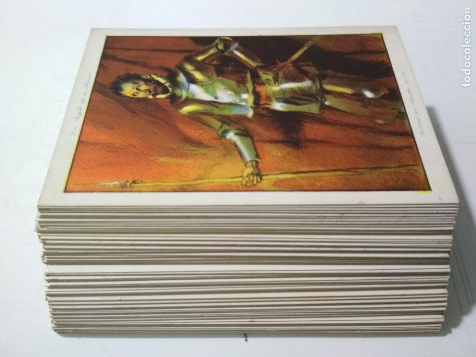 Coleccionismo Álbum: EL INGENIOSO HIDALGO DON QUIJOTE DE LA MANCHA, COLECCION COMPLETA, 80 CROMOS, CHOCOLATES AMATLLER - Foto 9 - 139596382