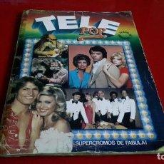 Coleccionismo Álbum: ALBUM COMPLETO TELE POP EDICIONES ESTE AÑO 1980. Lote 139768414