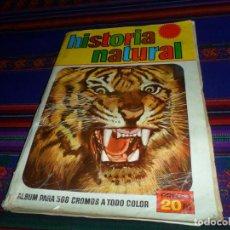 Coleccionismo Álbum: HISTORIA NATURAL COMPLETO 508 CROMOS. BRUGUERA 1967.. Lote 139796386
