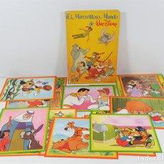 Coleccionismo Álbum - ALBUM DE CROMOS COMPLETO. EL MARAVILLOSO MUNDO DE WALT DISNEY. ESPAÑA. 1985 - 139946454