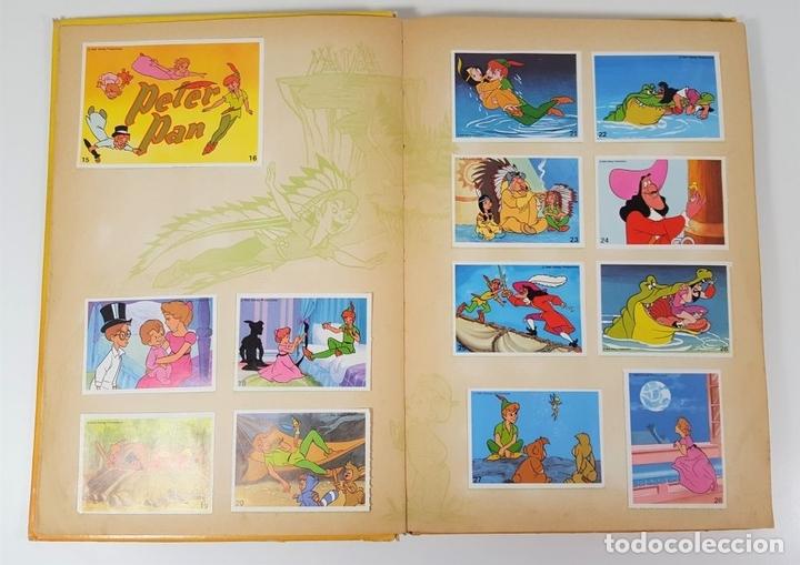 Coleccionismo Álbum: ALBUM DE CROMOS COMPLETO. EL MARAVILLOSO MUNDO DE WALT DISNEY. ESPAÑA. 1985 - Foto 4 - 139946454