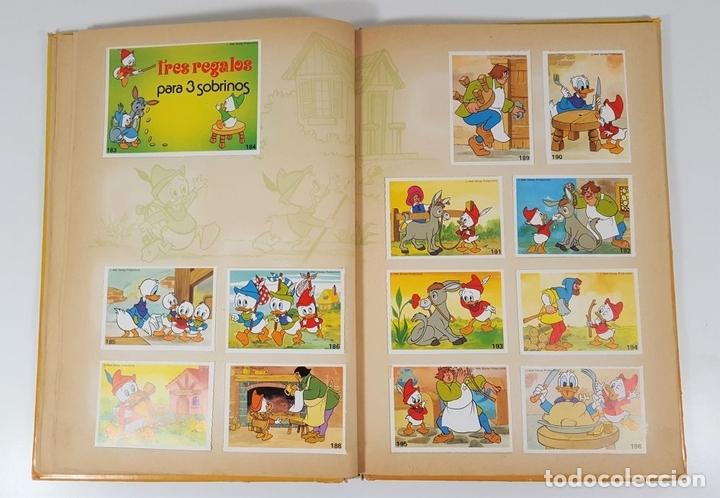 Coleccionismo Álbum: ALBUM DE CROMOS COMPLETO. EL MARAVILLOSO MUNDO DE WALT DISNEY. ESPAÑA. 1985 - Foto 7 - 139946454