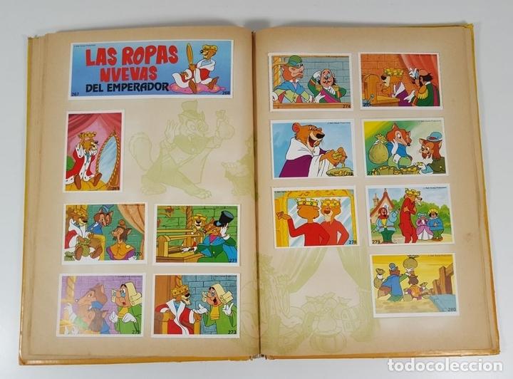 Coleccionismo Álbum: ALBUM DE CROMOS COMPLETO. EL MARAVILLOSO MUNDO DE WALT DISNEY. ESPAÑA. 1985 - Foto 8 - 139946454