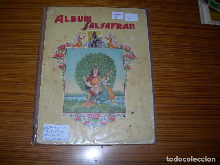 ABUM SALSAFRAN COMPLETO EDITA (Coleccionismo - Cromos y Álbumes - Álbumes Completos)