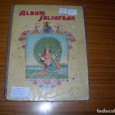 Coleccionismo Álbum: ABUM SALSAFRAN COMPLETO EDITA. Lote 139959862