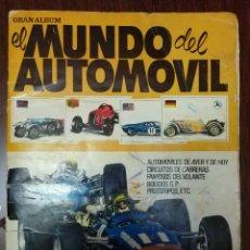 Coleccionismo Álbum: ALBUM DE CROMOS EL MUNDO DEL AUTOMOVIL (COMPLETO) (BRUGUERA 1971). Lote 140113914