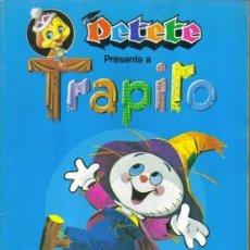 Coleccionismo Álbum: PETETE PRESENTA A TRAPITO. - ALBUM DE CROMOS. COMPLETO.. Lote 140125601