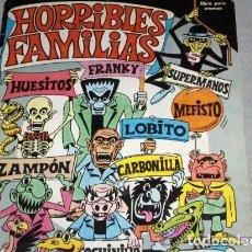 Coleccionismo Álbum: HORRIBLES FAMILIAS. COMPLETO Y DIFICIL DE ENCONTRAR.. Lote 140151230