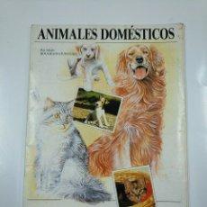 Coleccionismo Álbum: ALBUM ANIMALES DOMESTICOS. PANINI. ALLAIN BOUGRAIN DUBOURG. COMPLETO. TDKC38. Lote 140223970