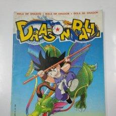 Coleccionismo Álbum: DRAGON BALL. BOLA DE DRAGON. ALBUM DE CROMOS COMPLETO PANINI. EN CASTELLANO. TDKC38. Lote 140226610