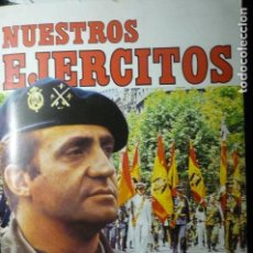 Coleccionismo Álbum: ALBUM CROMOS COMPLETO NUESTROS EJERCITOS. Lote 140412914