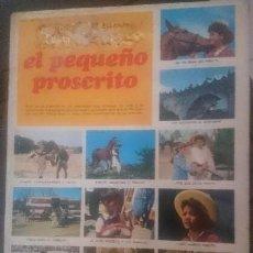 Coleccionismo Álbum: EL PEQUEÑO PROSCRITO,. Lote 140555714