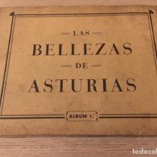 Coleccionismo Álbum: ALBUM LAS BELLEZAS DE ASTURIAS. ALBUM 1. 1933. JUAN GIL CAÑELLAS. COMPLETO. Lote 140663070