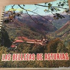 Coleccionismo Álbum: LAS BELLEZAS DE ASTURIAS (ALBUM COMPLETO ) CROMOASTUR S.L 1965. Lote 140713694
