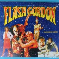 Coleccionismo Álbum: ALBUM FLASH GORDON , CASI COMPLETO , MUY BUEN ESTADO, FALTA EL NUMERO 65 , ORIGINAL. Lote 140763218