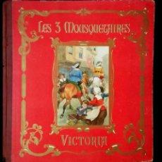 Coleccionismo Álbum: LOS TRES MOSQUETEROS,DOS ÁLBUMES.CHOCOLATE VICTORIA-BELGICA. Lote 140787278