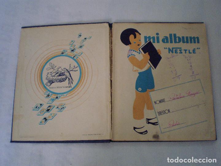 Coleccionismo Álbum: ALBUM MARAVILLAS DEL MUNDO COMPLETO NESTLE - Foto 2 - 140846966