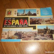 Coleccionismo Álbum: ALBUM DE ESPAÑA EN FOTO CROMOS COLECCION COMPLETO A TODO COLOR COLED S.A. EDUCATIVAS. Lote 140868590