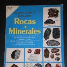 Coleccionismo Álbum: ALBUM COMPLETO - ROCAS Y MINERALES - NUMERO 34 DE NOVARO - 1960. Lote 140877274