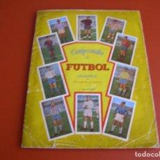 Coleccionismo Álbum: ALBUM CAMPEONATO DE FUTBOL 57-58, JUGADORES DE PRIMERA DIVISION, GRAFICAS NILO, COMPLETO.. Lote 140884914