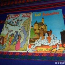 Coleccionismo Álbum: 101 DÁLMATAS COMPLETO 203 CROMOS FHER 1962 Y EL LIBRO DE LA SELVA COMPLETO 157 CROMOS. FHER 1968.. Lote 141313442