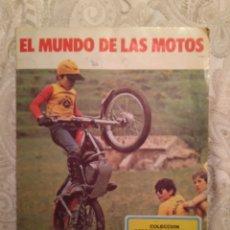 Coleccionismo Álbum: EL MUNDO DE LAS MOTOS. ALBUM COMPLETO.. Lote 141705685